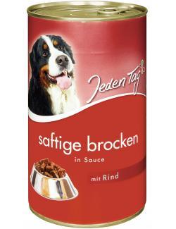 Jeden Tag Saftige Brocken in Sauce Rind  (1,24 kg) - 4306180183608
