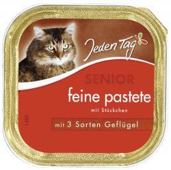 Jeden Tag Senior feine Pastete mit 3 Sorten Geflügel  (100 g) - 42263920