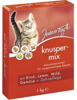Jeden Tag Knuspermix Fleisch & Gemüse  (1 kg) - 4306180182809