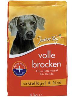 Jeden Tag Volle Brocken mit Geflügel & Rind  (4 kg) - 4306180220396