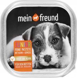 Mein Freund Hund Junior Feine Pastete mit Huhn und Gemüse  (150 g) - 4306188303350