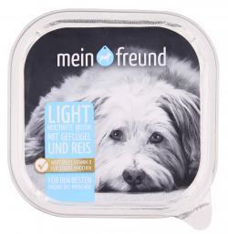 Mein Freund Hund Herzhafte Bissen mit Geflügel Light  (300 g) - 4306188303442