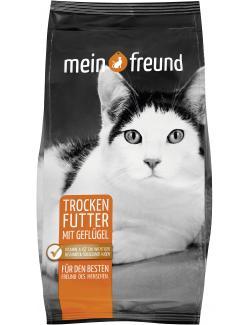 Mein Freund Katze Trockenfutter mit Geflügel  (750 g) - 4306188305606