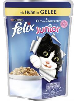Felix Junior So gut wie es aussieht mit Huhn in Gelee  (100 g) - 7613031591251