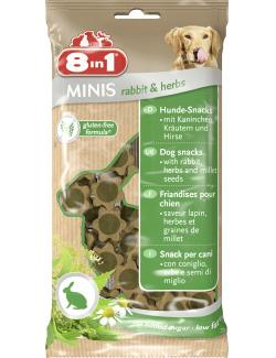 8in1 Minis Rabbit & Herbs  (100 g) - 4048422122760