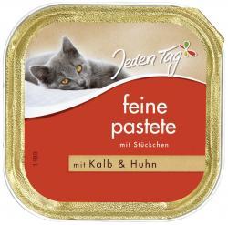 Jeden Tag Feine Pastete mit Stückchen Kalb & Huhn  (100 g) - 42263883