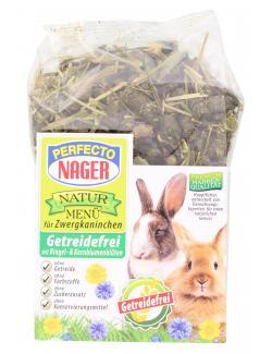 Perfecto Nager Natur Menü für Zwergkaninchen  (600 g) - 4036897208737