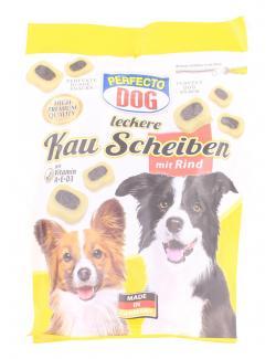 Perfecto Dog Leckere Kau Scheiben mit Rind  (155 g) - 4036897213663