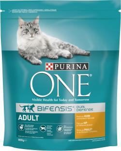 Purina One Adult Bifensis Huhn  (800 g) - 7613035608405