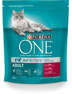 Purina One Bifensis Adult Rind  (800 g) - 7613035614024