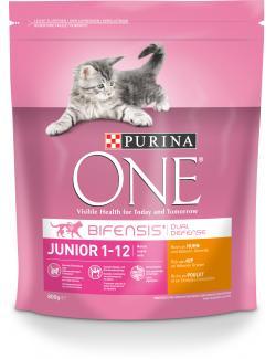 Purina One Bifensis Junior Huhn  (800 g) - 7613035614482