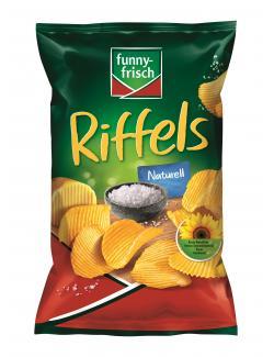 Funny-frisch Riffels naturell  (150 g) - 4003586000347