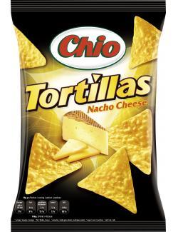 Chio Tortillas Nacho Cheese  (125 g) - 4001242002162