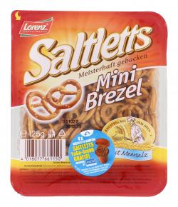 Lorenz Saltletts Mini Brezel  (125 g) - 4018077661150