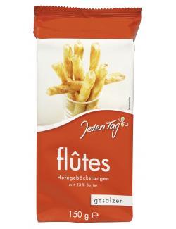 Jeden Tag Flûtes Hefegebäckstangen gesalzen  (150 g) - 4306188047414