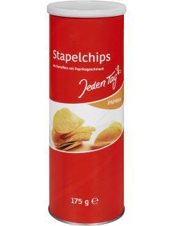 Jeden Tag Stapelchips Paprika  (175 g) - 4306188046981