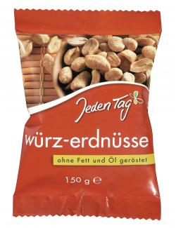 Jeden Tag Würz-Erdnüsse  (150 g) - 4306188051985