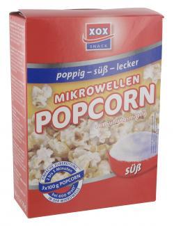 Xox Mikrowellen Popcorn süß  (300 g) - 4031446877013
