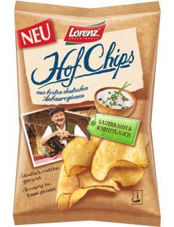 Lorenz Hofchips Sauerrahm & Schnittlauch  (110 g) - 4018077680427