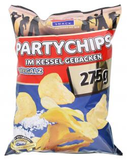 Xox Party Kesselchips Meersalz  (275 g) - 4031446869667