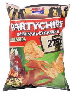 Xox Party Kesselchips Sriracha  (275 g) - 4031446869612