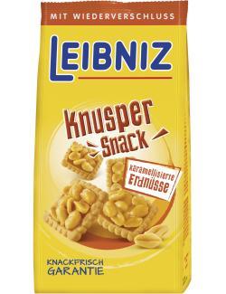 Leibniz Knusper Snack karamellisierte Erdnüsse  (175 g) - 4017100119910