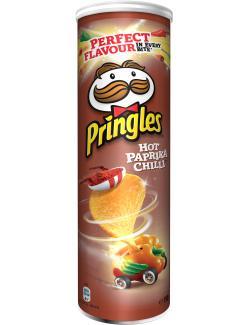Pringles Hot Paprika Chilli  (190 g) - 5053990110155