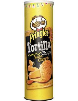 Pringles Tortilla Chips Nacho Cheese  (180 g) - 5053990110261