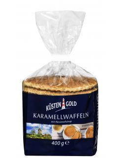 Küstengold Karamellwaffeln mit Karamellsirup  (400 g) - 4250426216462