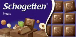 Schogetten Nugat  (100 g) - 4000607162305