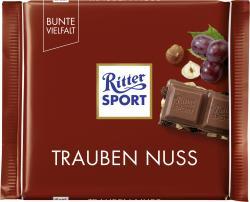Ritter Sport Bunte Vielfalt Trauben Nuss  (100 g) - 4000417022004