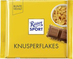 Ritter Sport Bunte Vielfalt Knusperflakes  (100 g) - 4000417011008