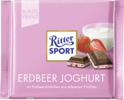 Ritter Sport Bunte Vielfalt Erdbeer-Joghurt  (100 g) - 4000417269003