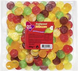 Red Band Fruchtgummi Münzen  (500 g) - 8713800111488