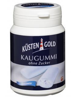 Küstengold Kaugummi extra weiß ohne Zucker  (67 g) - 4250426208078