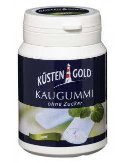 Küstengold Kaugummi ohne Zucker Mint  (67 g) - 4250426208054