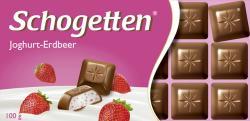 Schogetten Joghurt-Erdbeer  (100 g) - 4000607143007