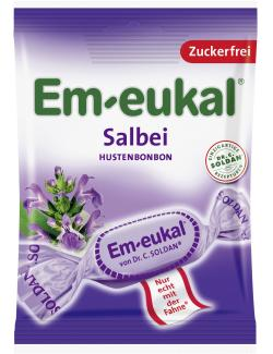Em-eukal Hustenbonbons Salbei zuckerfrei  (75 g) - 4009077015951