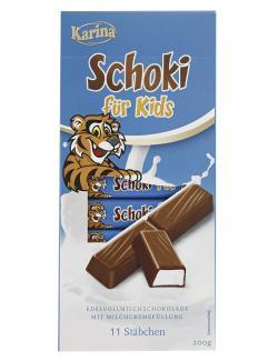 Karina Schoki Für Kids Schokoriegel  (200 g) - 4000411014357