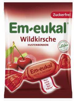 Em-eukal Hustenbonbons Wildkirsche zuckerfrei  (75 g) - 4009077024151