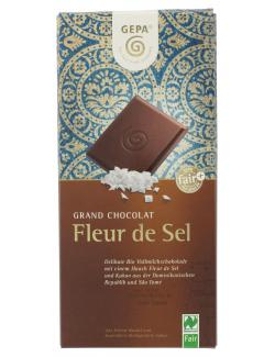 Gepa Bio Fleur de Sel Schokolade  (100 g) - 4013320185780