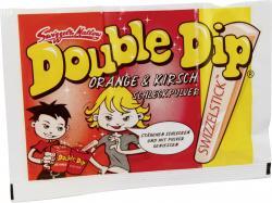 Swizzels Matlow Double Dip Schleckpulver mit Swizzelstick Orange & Kirsch  (18 g) - 5010478810075