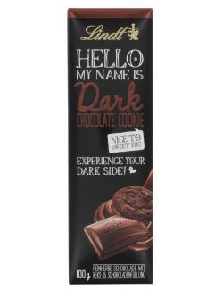Lindt Hello Dark Chocolate Cookie  (100 g) - 4000539224508