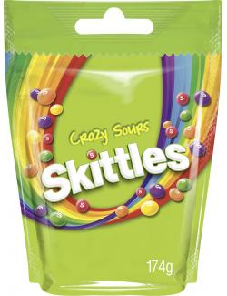Skittles Crazy Sours  (174 g) - 4009900465304