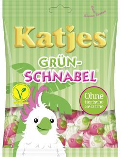 Katjes Grün-Schnabel  (200 g) - 4037400431635