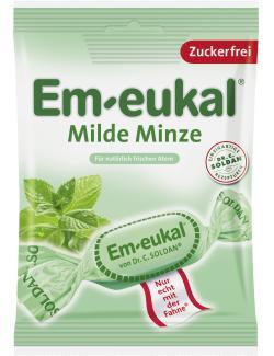 Em-eukal Hustenbonbons milde Minze zuckerfrei  (75 g) - 4009077024373