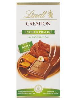 Lindt Creation Knusper Praliné  (150 g) - 3046920045711