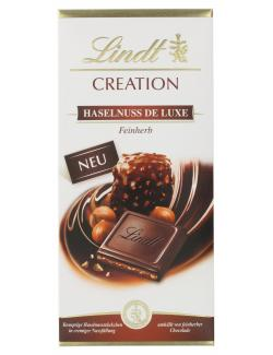 Lindt Creation Haselnuss de Luxe Feinherb  (150 g) - 3046920044028