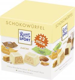 Ritter Sport Schokowürfel weiss  (17 g) - 4000417650207