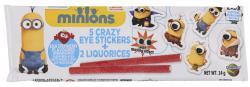 Dracco Minions Crazy Eye Sticker + Candy  (14 g) - 4014437175015
